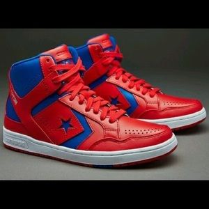 Converse weapon red and blue